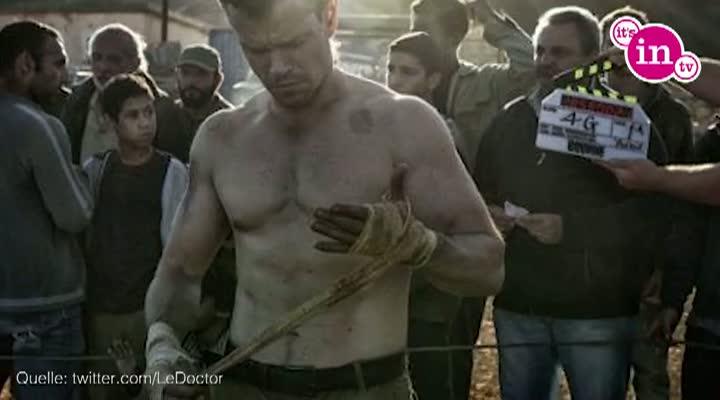 Matt Damon als Jason Bourne im fünften Bourne-Film