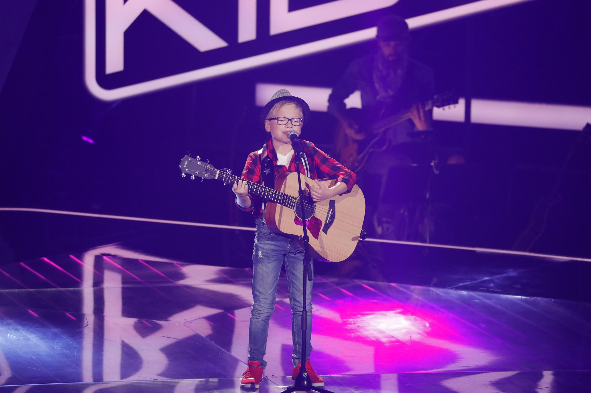 The Voice Kids 2017 - Nils