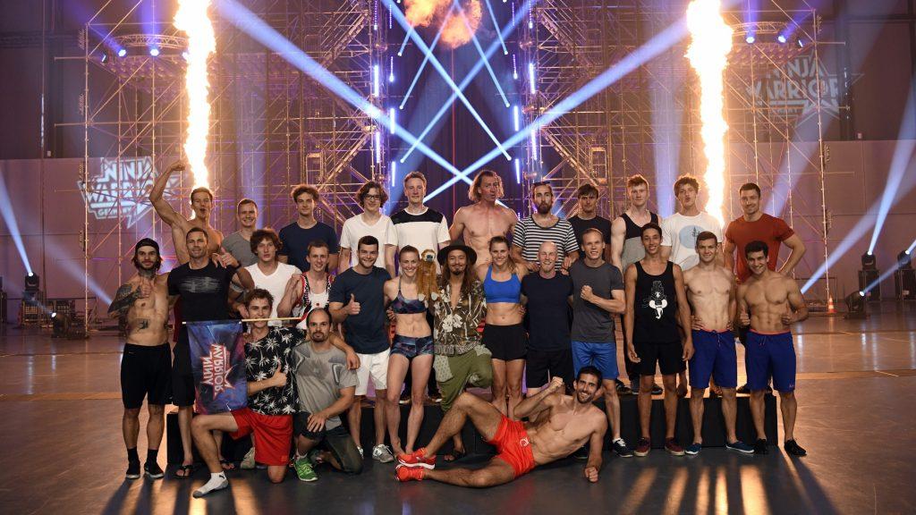 """Diese 27 Athleten stehen im Finale von """"Ninja Warrior Germany""""."""