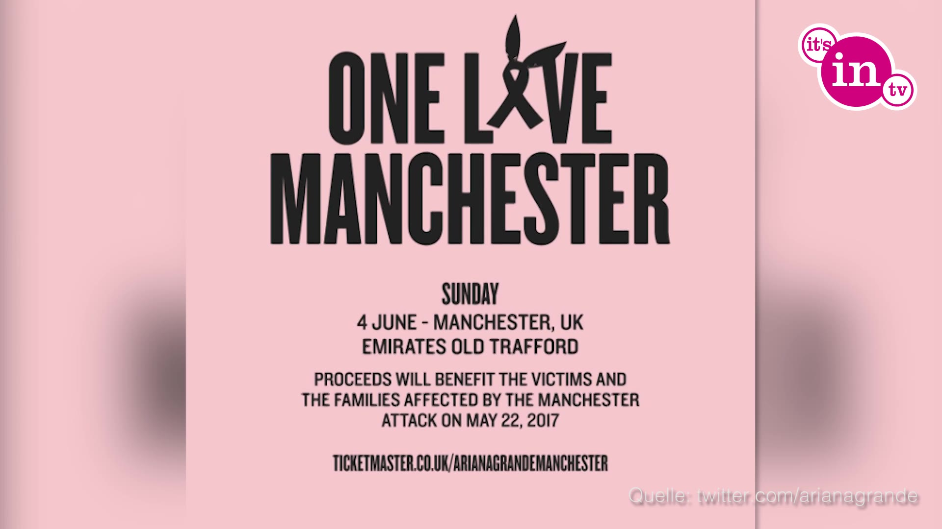 One Love Manchester Tv