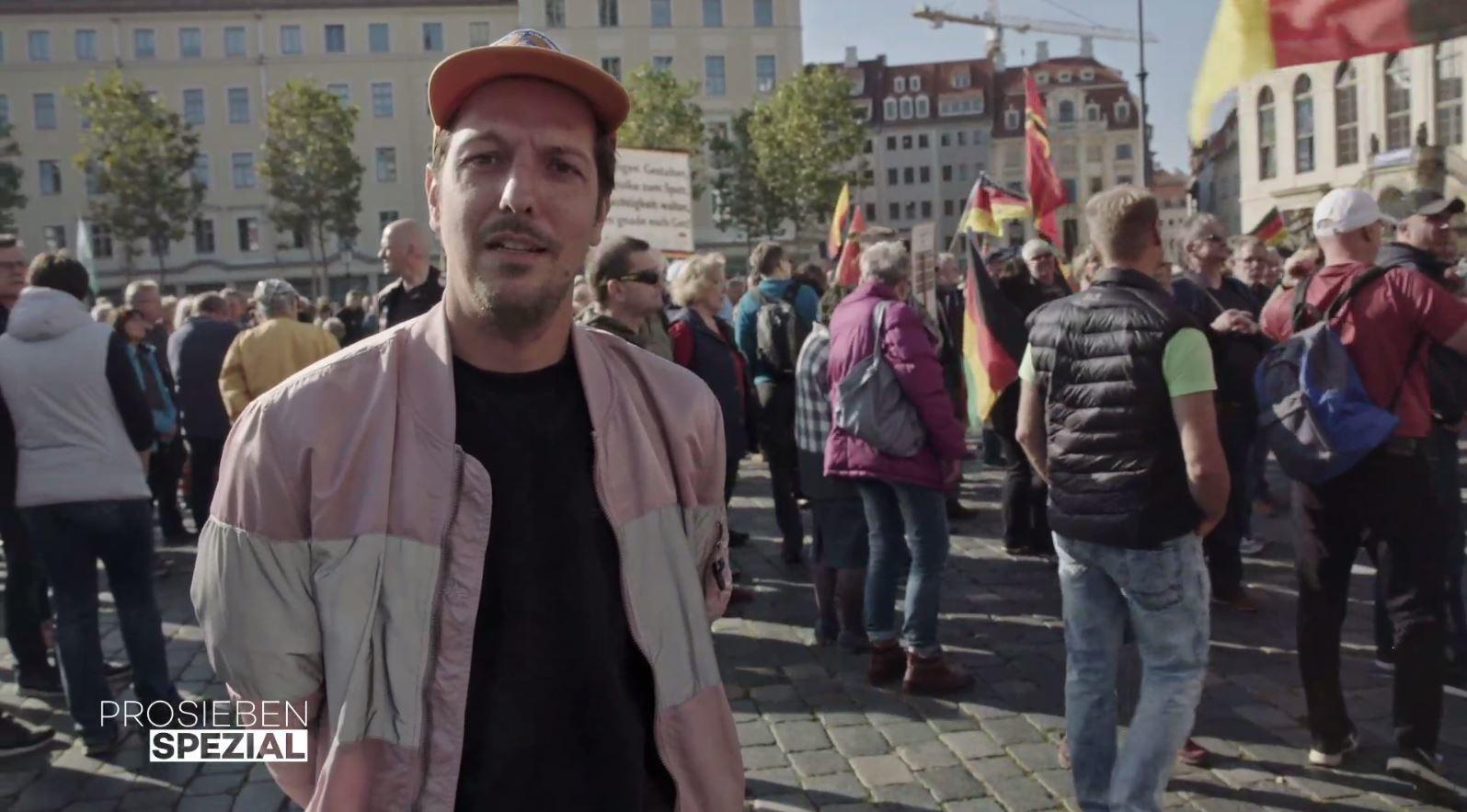 """Für die Reportage """"Rechts. Deutsch. Radikal."""" recherchiert ProSieben-Reporter Thilo Mischke im Machtzentrum der AfD"""