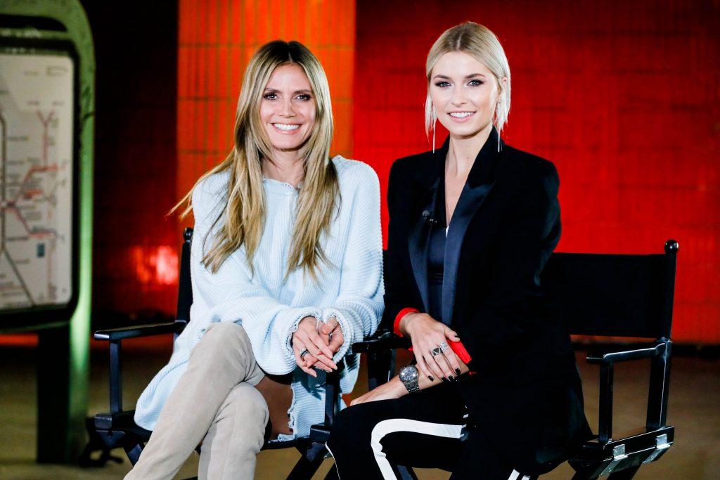 """Fashion-Show im Berliner Untergrund – Heidi Klum und Gastjurorin Lena Gercke starten am Donnerstag die Suche nach """"Germany's next Topmodel"""" 2019"""
