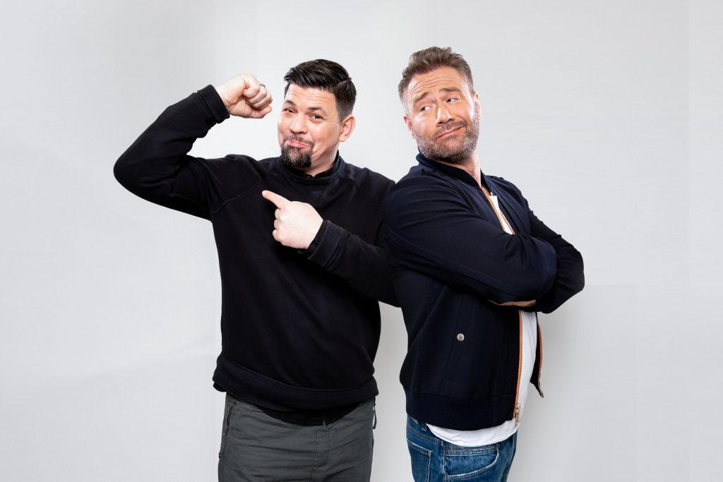 """Tim Mälzer und Sasha duellieren sich bei """"Schlag den Star"""" auf ProSieben."""