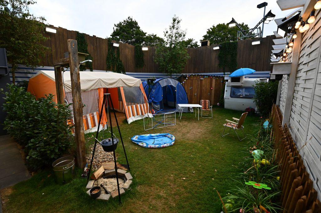 """Der Campingplatz von """"Promi Big Brother""""."""