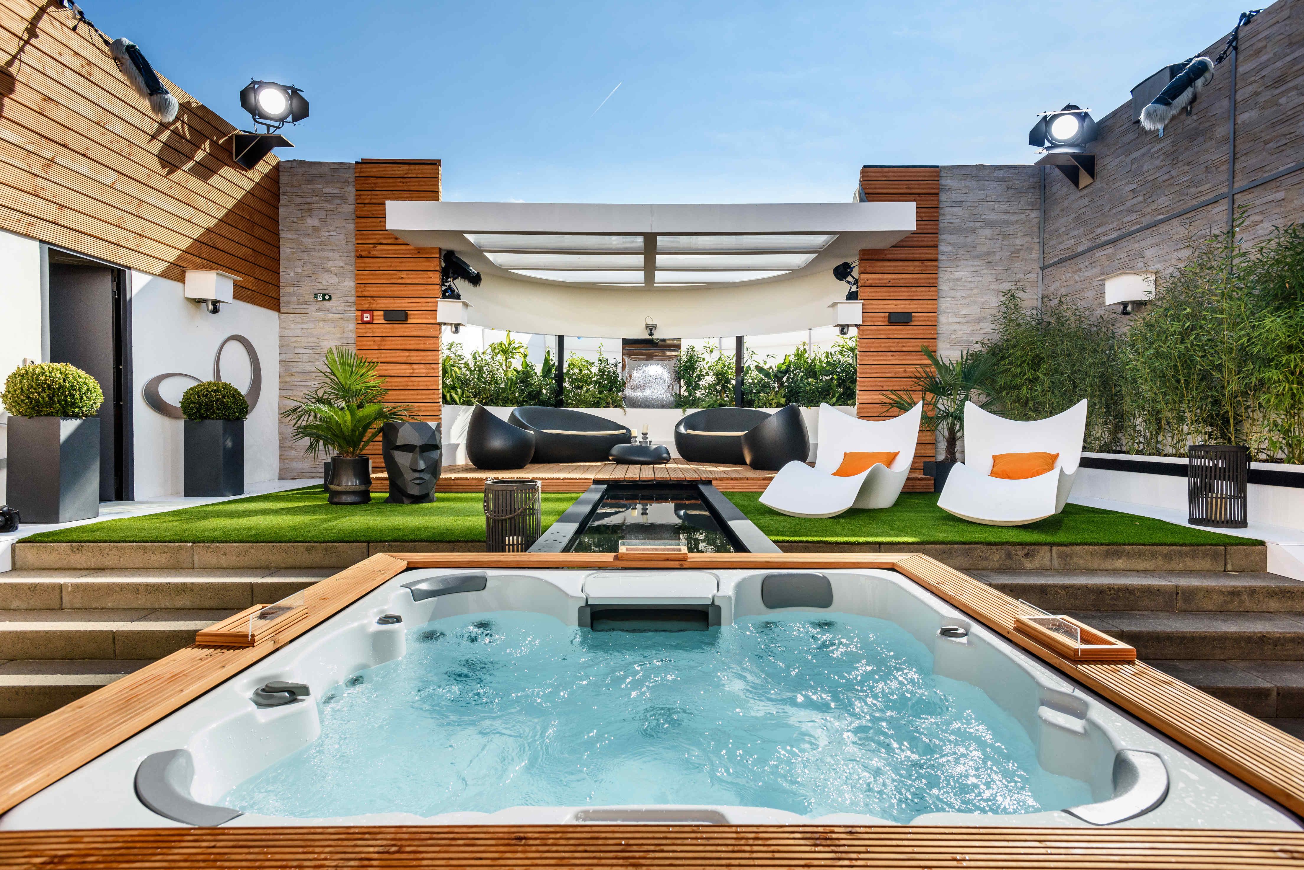 promi big brother 2016 haus der au enbereich mit. Black Bedroom Furniture Sets. Home Design Ideas