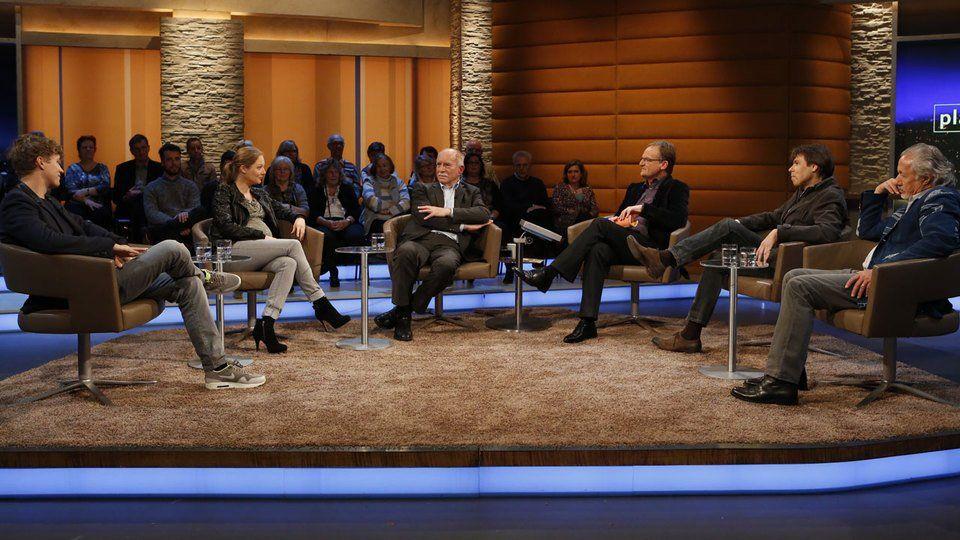 """Frank Plasberg moderiert die Talkshow """"Plasberg persönlich"""" einmal im Monat im WDR."""