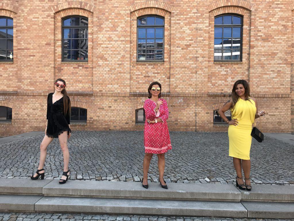 V.l.: Klaudia Giez, Claudia Obert, Patricia Blanco
