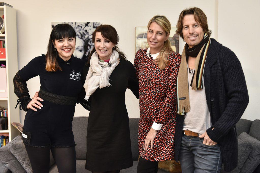 V.l.: Lady Bitch, Anna Maria Kaufmann, Giulia Siegel, Hakim Michael Meziani