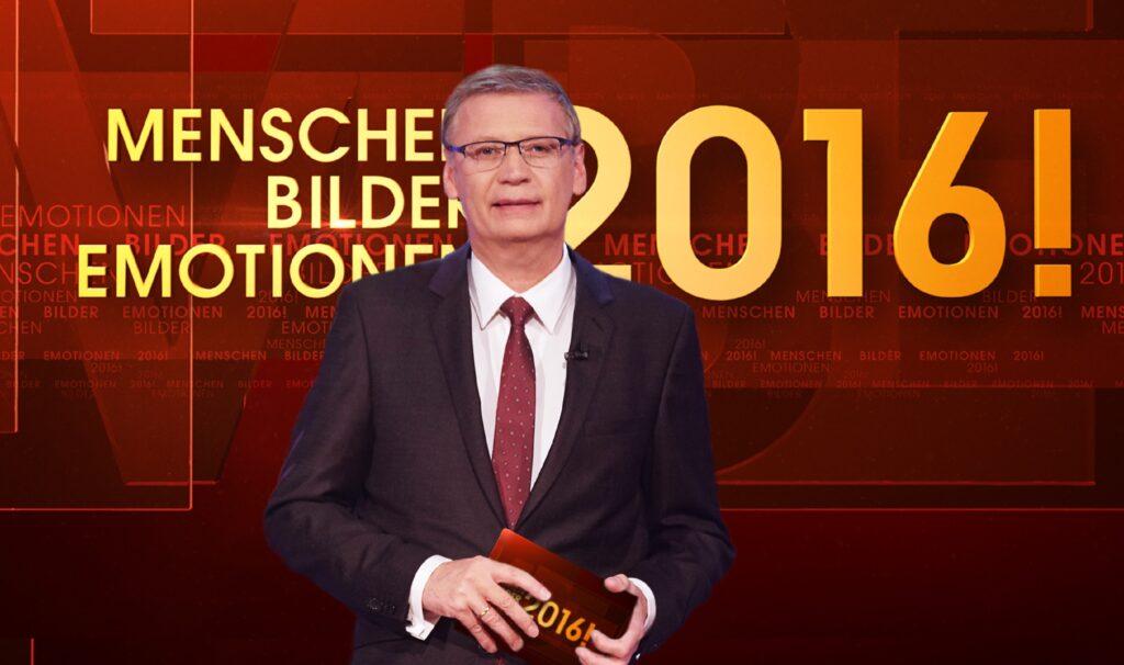 Günther Jauch moderiert den RTL-Jahresrückblick 2016