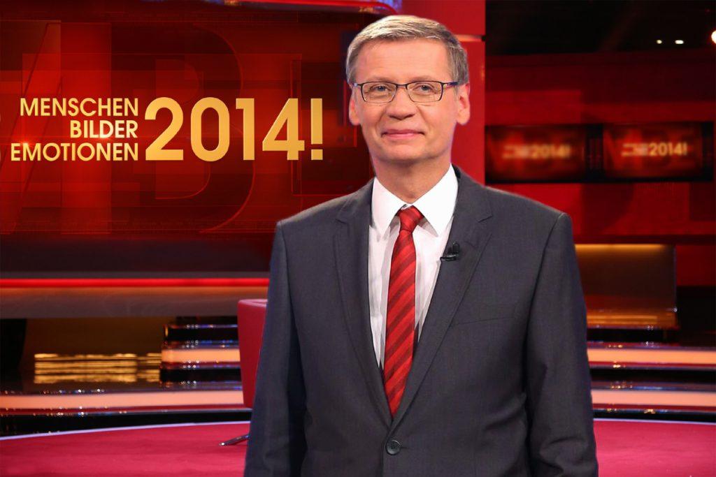 Günther Jauch begrüßt sie heute ab 20.15 Uhr live in seiner Sendung.