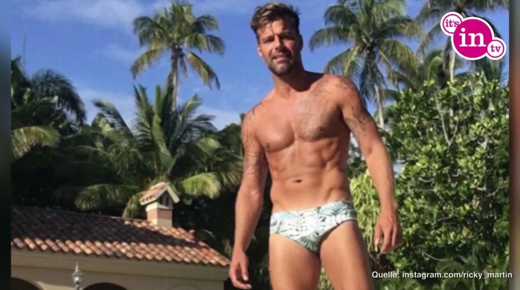 Ricky Martin auf Instagram