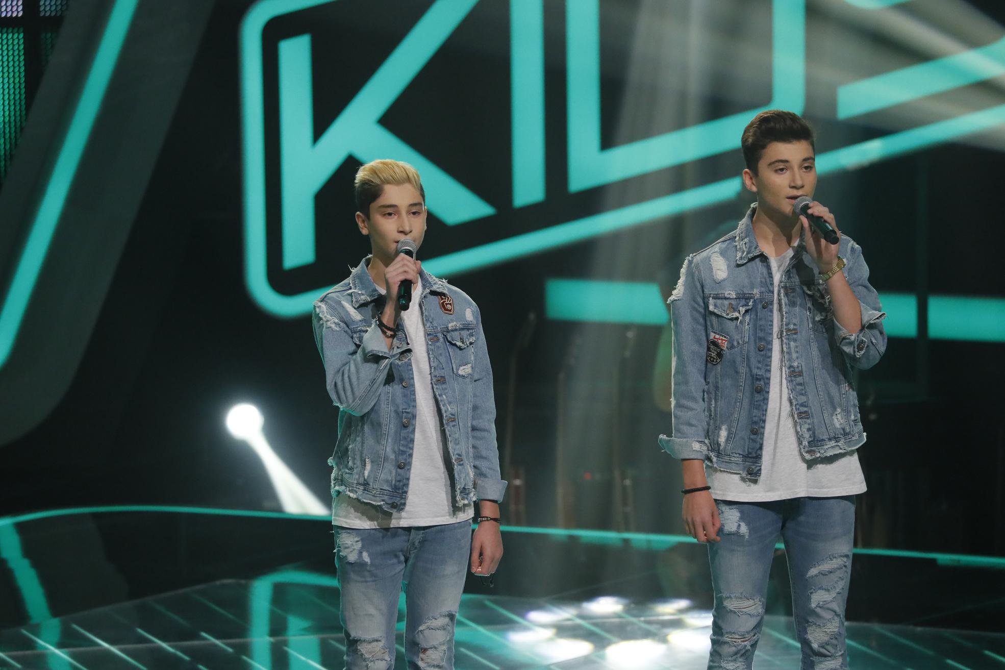 The Voice Kids 2017 - Roman und Michael