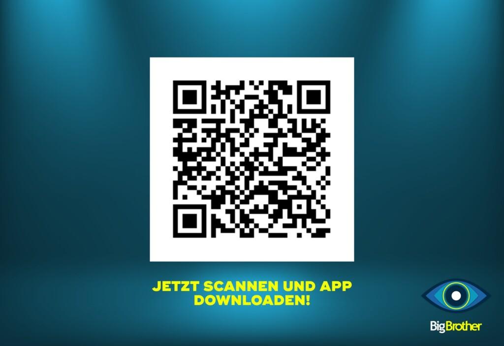Big Brother 2020 - QR-Code zur SAT.1-App