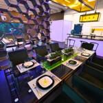 Big Brother 2020 - Essbereich und offene Küche im Glashaus
