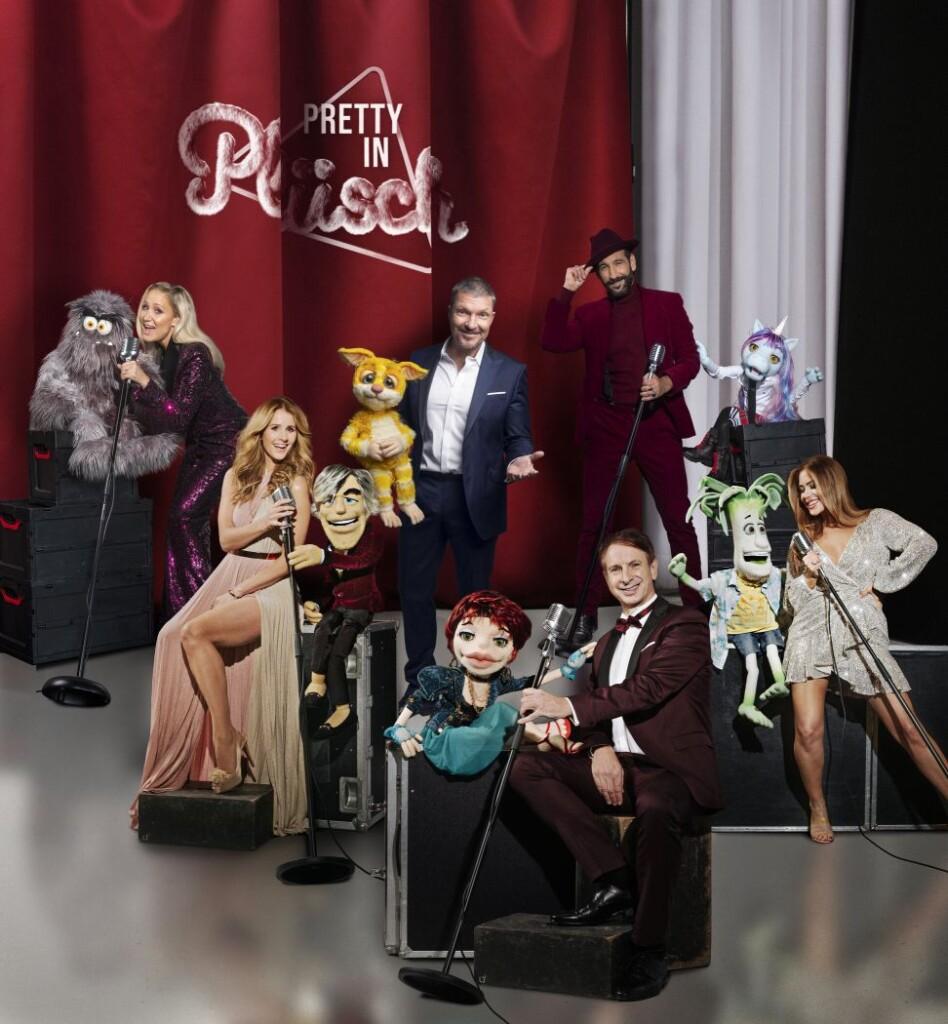 """""""Pretty in Plüsch - die schrägste Gesangsshow Deutschlands"""" ab Freitag, 27. November, 20:15 Uhr, live in SAT.1."""