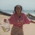 Promis unter Palmen 2020 Finale - Janine Pink beim Finalspiel