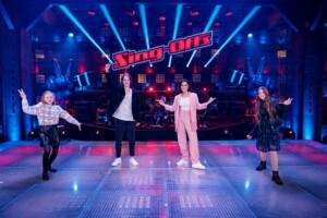 The Voice Kids 2021 - Kiara, Egon und Emily im Team Steff