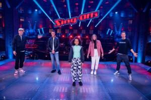The Voice Kids 2021 - Marko, Rahel und Constance im Team Fanta
