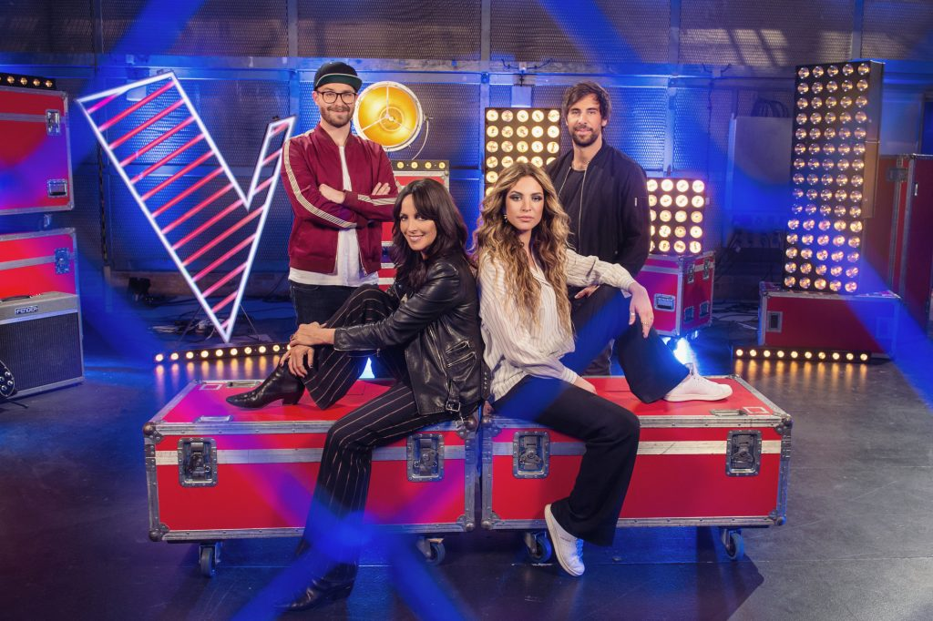 """Mark Forster, Nena, Larissa und Max Giesinger sind die Juroren bei """"The Voice Kids 2018"""""""