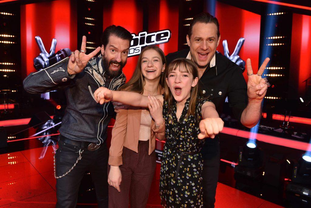 """Die Geschwister Mimi (15) und Josefin (13) aus Augsburg gewinnen """"The Voice Kids"""" 2019"""