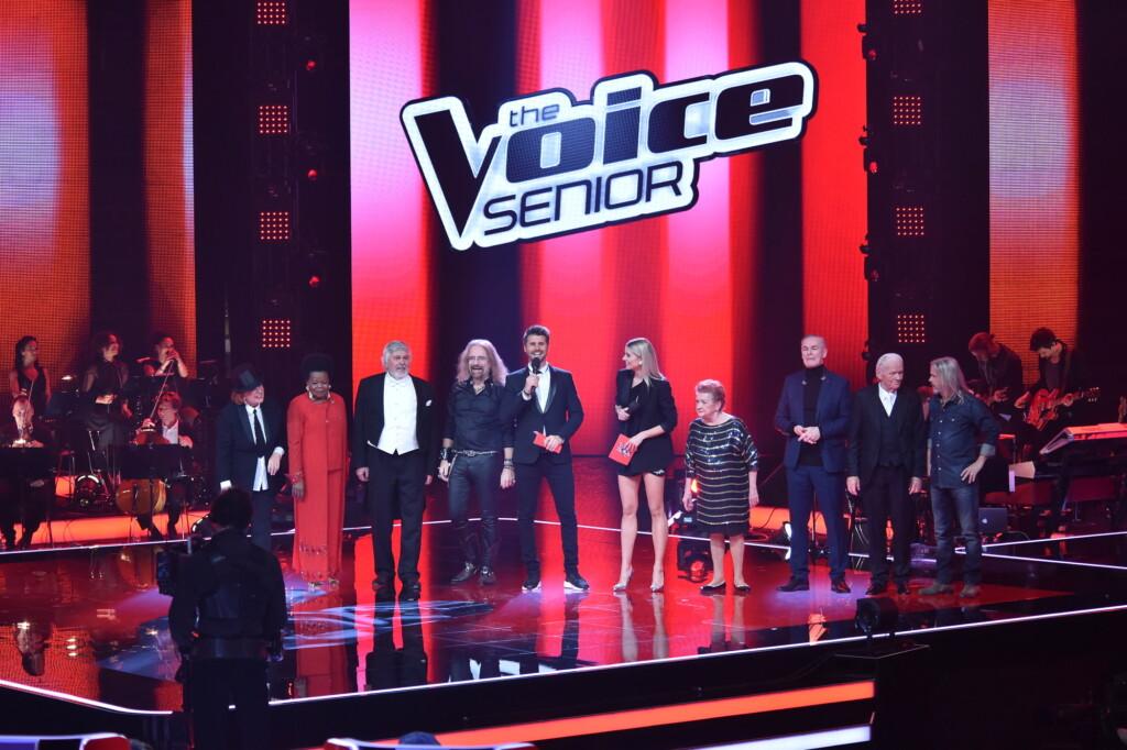 """Das sind die acht Finalisten bei """"The Voice Senior"""" heute Abend in SAT.1."""