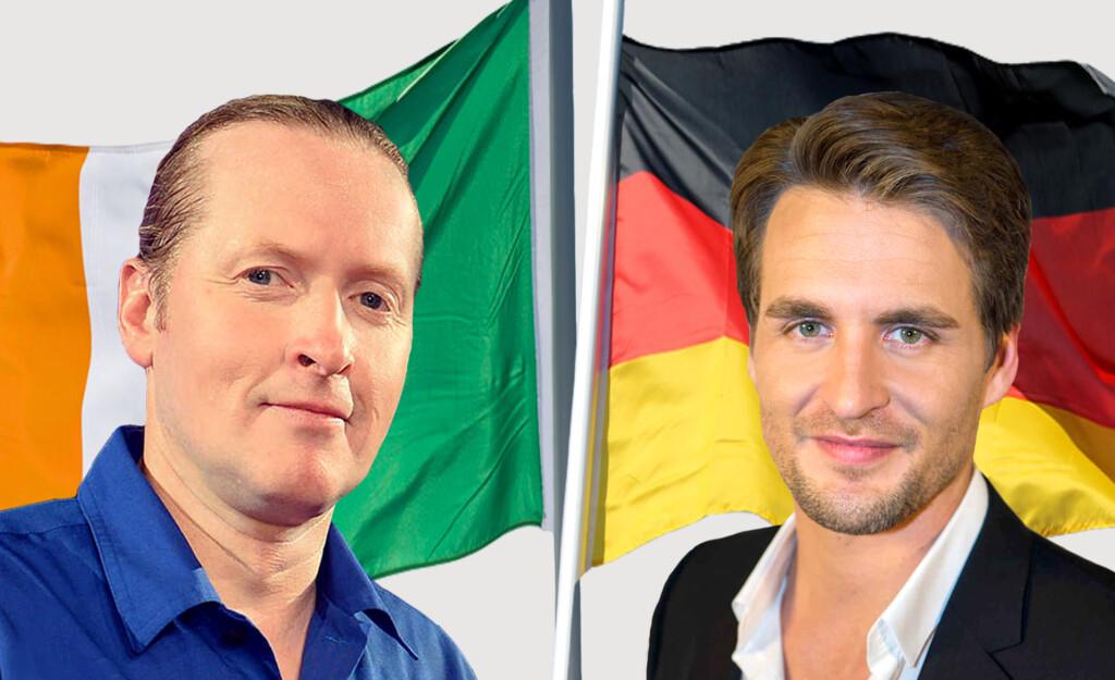 """Musical-Star und Bohlen-Bezwinger Alexander Klaws trifft auf den Extremsportler und mehrfachen Wok-, Turmspring-, Stock-Car- und zweifachen """"Schlag den Star""""-Gewinner Joey Kelly."""