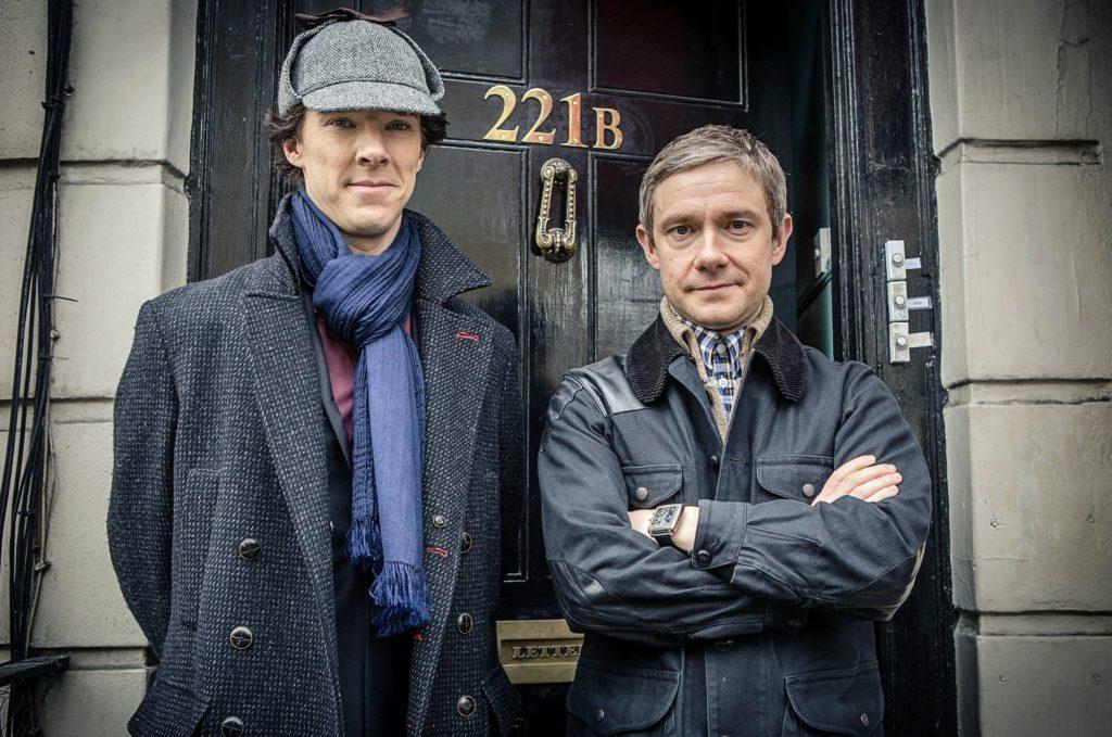 Sherlock Holmes (Benedigt Cumberbatch) und sein Freund John Watson (Martin Freeman).
