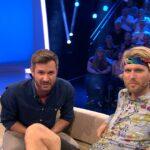 Promi Big Brother 2016 Tag 10 - Robin mit Jochen Schropp im Studio