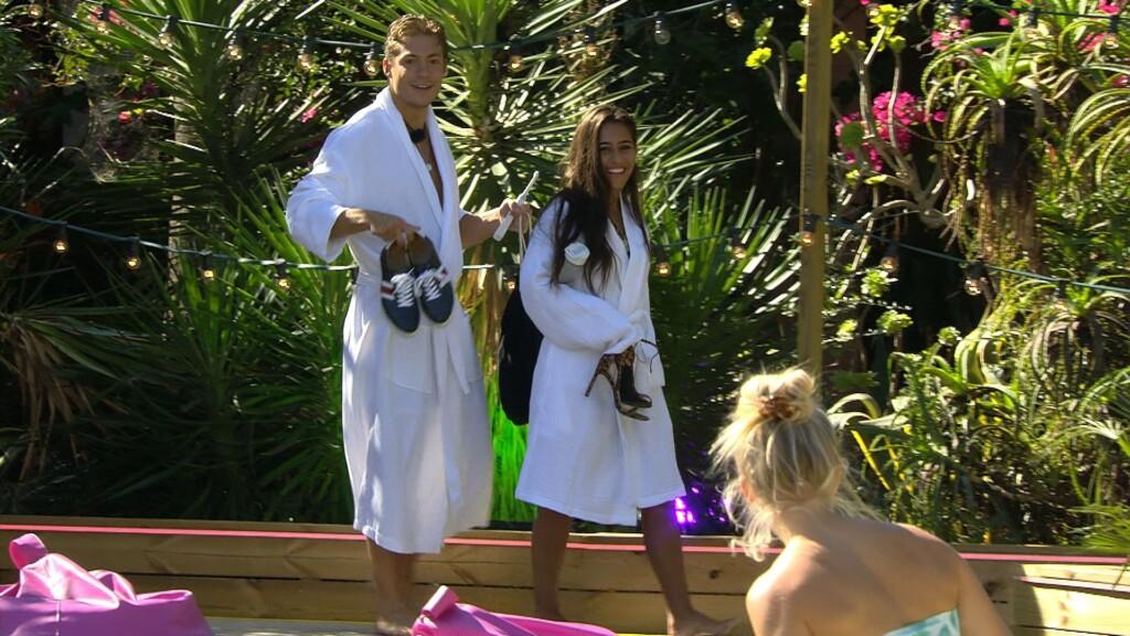 Love Island 2020 Tag 10 - Aurelia und Henrik kehren von der Liebesnacht zurück
