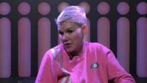 Promi Big Brother 2021 Show 12 - Melanie redet im Sprechzimmer über Uwe