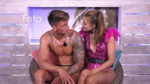 Love Island 2021 Tag 15 - Fynn und Greta in der Strandhütte