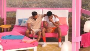 Love Island 2021 Tag 16 - Amadu ist ganz gerührt von der Nachricht seines Bruders