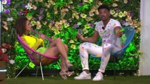 Love Island 2021 Halbfinale - Julia und Amadu streiten sich heftig
