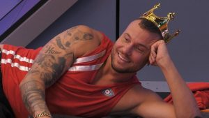 Promi Big Brother 2021 Show 2 - Eric Sindermann fragt Melanie Müller nach ihrer Ehe