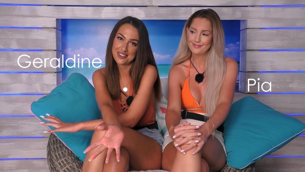 Love Island 2020 Tag 3 - Geraldine und Pia