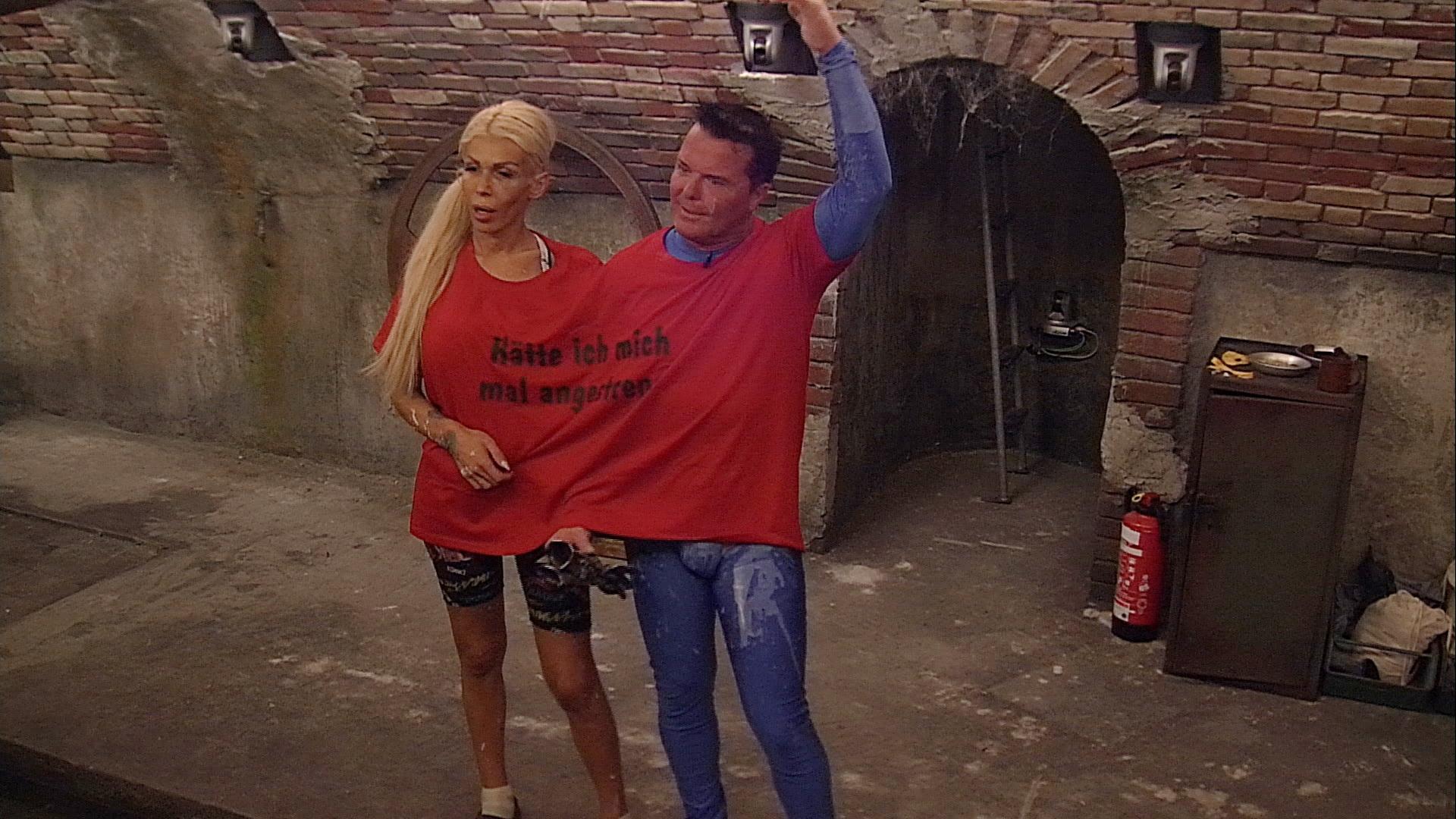 Promi Big Brother 2016 Tag 3 - Edona und Marcus müssen Loser-Shirt tragen