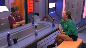 Promi Big Brother 2021 Show 3 - Daniela Büchner erzähllt von ihrer Beziehung zu Ennesto Monte