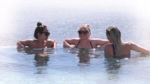 Love Island 2021 Tag 8 - Bianca, Emilia und Nicole im Pool