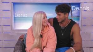 Love Island 2021 Tag 8 - Lena und Dennis