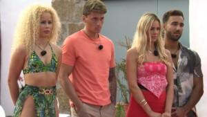 Love Island 2021 Tag 8 - Finn Emma, Fynn, Nicole und Alex