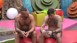 Promi Big Brother 2021 Show 8 - Pascal und Eric im Gespräch