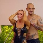 Promi Big Brother 2016 Tag 8 - Jessica und Ben duschen sich