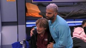 Promi Big Brother 2021 Show 9 - Rafi tröstet Jörg