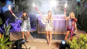 Love Island 2020 - Einzug der Granaten Nele, Julia und Melanie