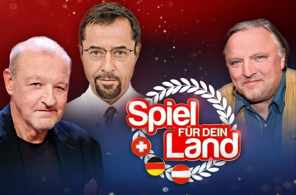 """Collage für den Länderwettstreit """"Spiel für dein Land"""" am 30.09.2017 im Ersten."""