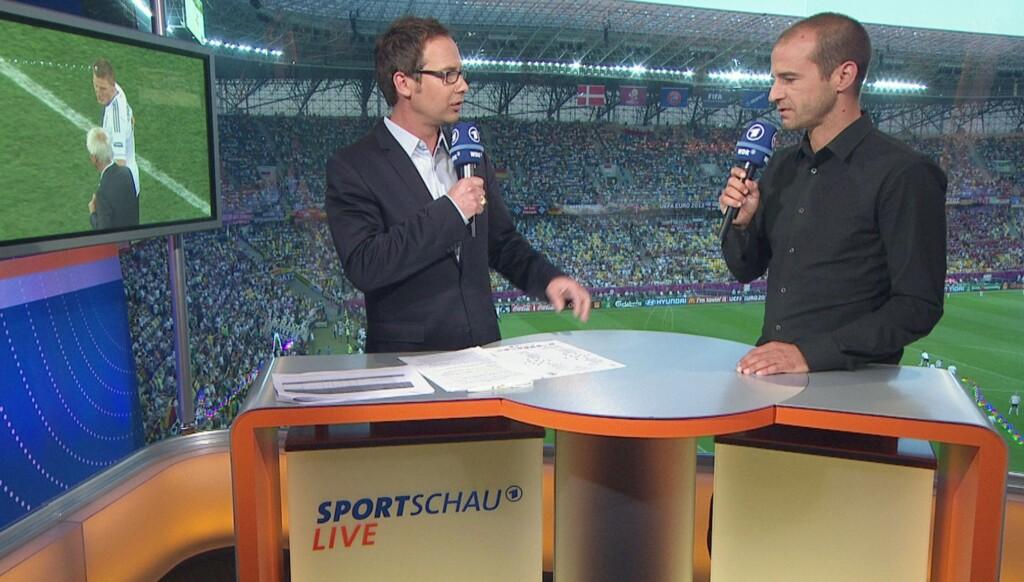 Matthias Opdenhövel und Mehmet Scholl