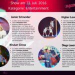 Superkids 2016 Folge 2 - Kandidaten im Bereich Entertainment