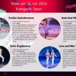 Superkids 2016 Folge 2 - Kandidaten im Bereich Sport