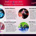 Superkids 2016 Folge 1 - Kandidaten im Bereich Entertainment