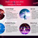 Superkids 2016 Folge 1 - Kandidaten im Bereich Musik